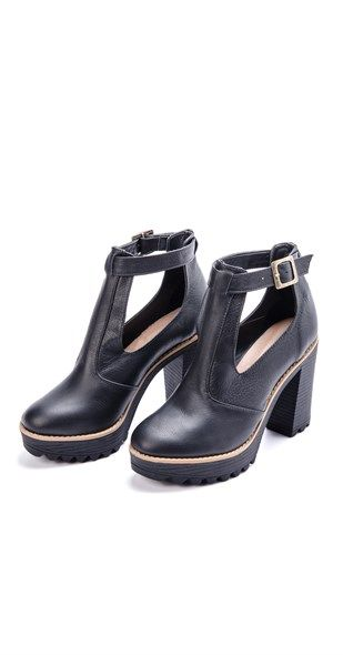 Ankle Boot Tratorada