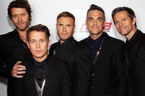 На 25-летие группы объединяются Take That и Робби Уильямс