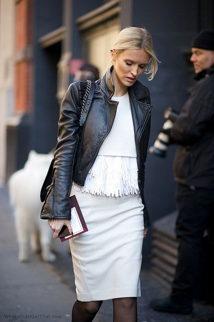 Shopping Q&A, where can I find a white fringe hem top like this? Find out: