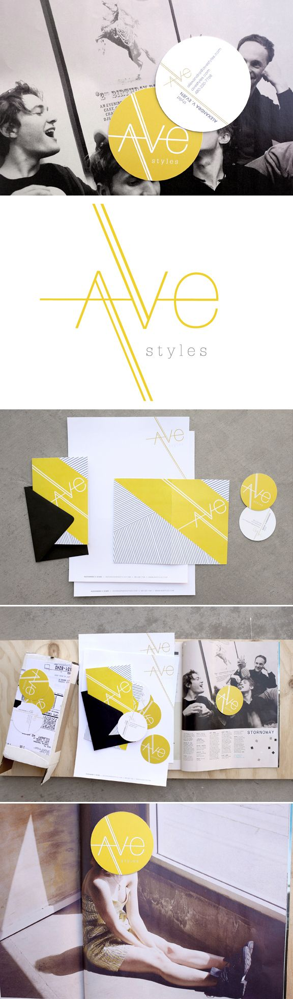 Ave Styles branding by Promise Tangeman