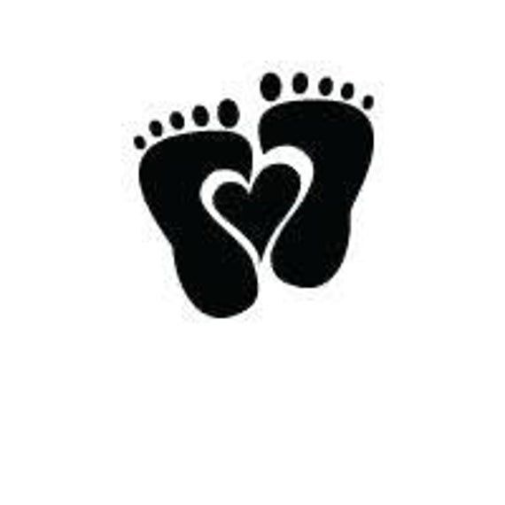 Baby Feet Heart Digital File Svg Png Jpg Cricut Etsy In 2021 Creative Baby Shower Baby Feet Baby Shower Gift Bags