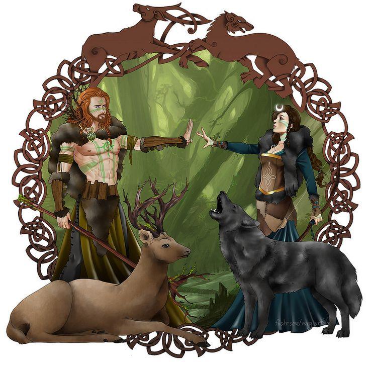 Berngal and Fianna | da vanyrei