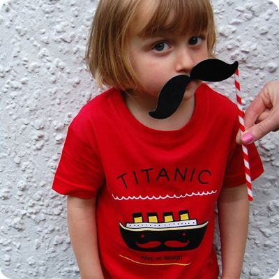 Titanic Kids Tee by teeandtoast.com