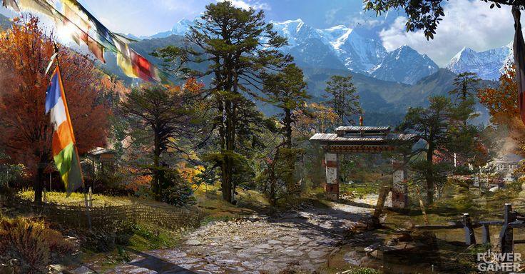 Kyrat - en hissnande, farlig och vild region i Himalaya som kämpar under en despotisk och självutnämnd kung vid namn Pagan Min. http://www.powergamer.se/2014/10/15/far-cry-4-survive-kyrat-trailer/ #FarCry4 #Ubisoft