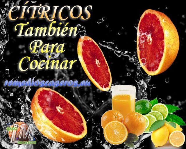 Usáis Limón, Naranja, Pomelo, o cualquier cítricos para cocinar, pues aquí les dejos como y para que se pueden usar cada unos, en la cocina.   http://www.remedioscaseros.eu/2015/10/citricos-tambien-para-cocinar.html Redacción: Miguel Monje Torreño