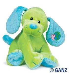 Happy Earth Day!  Gifts for Kids:  Webkinz Green Earth Puppy at Amazon
