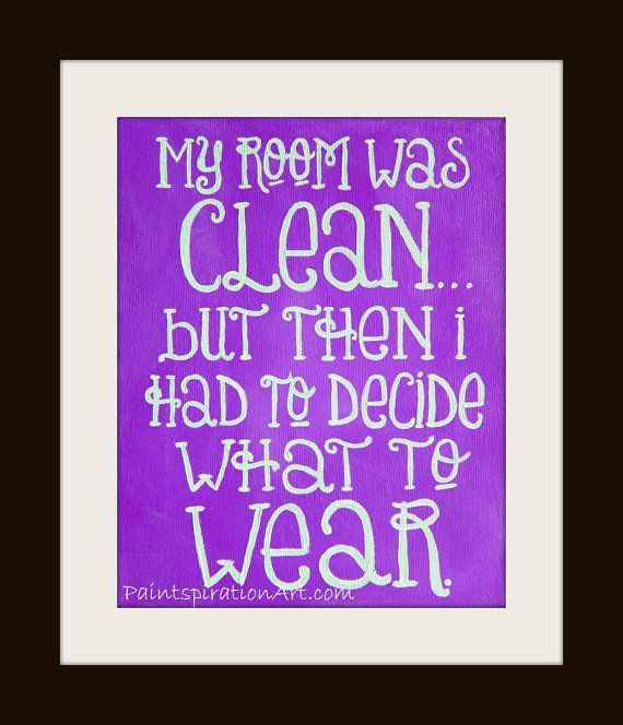 Funny Quote Print Purple Artwork Girly Art Humorous Art Girly Gift