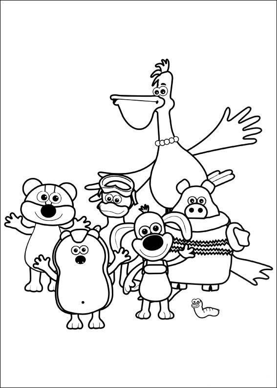 Tegninger Til Print Timmy Tid 35 Fargelegging Tegninger Barn