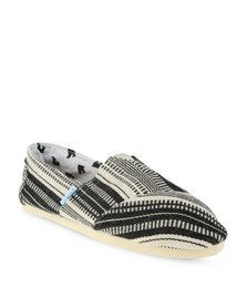 Paez Indie Slip On Shoes Black and Beige