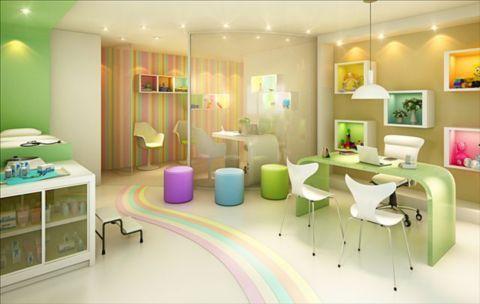 cores legais para dentro do consultório