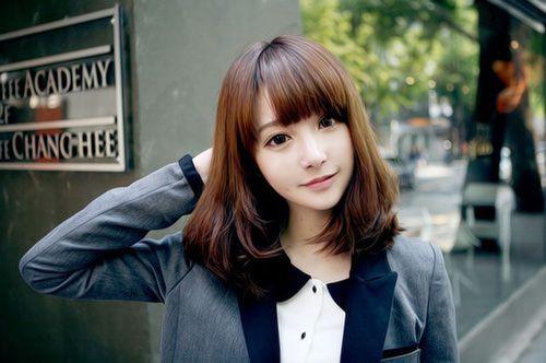 21 Cute Short Haircuts For Asian Girls 2017