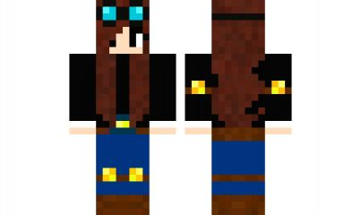 minecraft skin DanTDM-Girl Find it with our new Android Minecraft Skins App: https://play.google.com/store/apps/details?id=the.gecko.girlskins