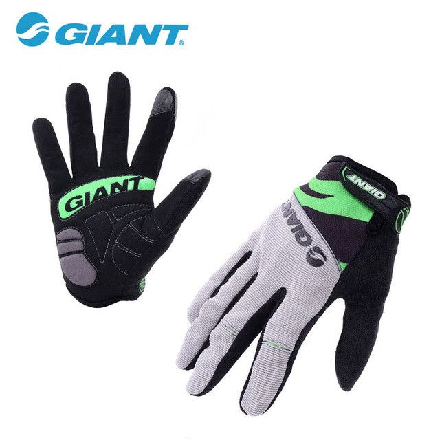 Cycling Gloves Bicycle Sports Full Finger Touch Screen Gloves GEL Pad Shock Absorption Bicycle Gloves Men Road Motocross Glove