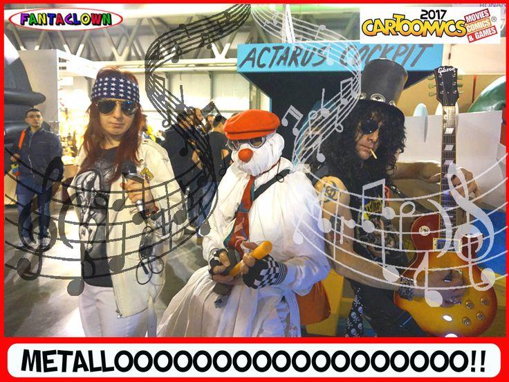 FantasmaClown Metalloooooooo
