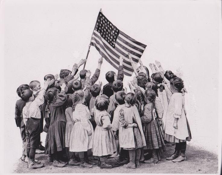 original salute to the american flag