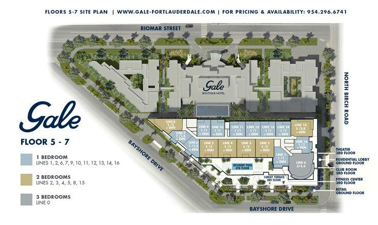 Форт-Лодердейл пляж Кондо продаж - цены, поэтажные планы, план участка и план основных