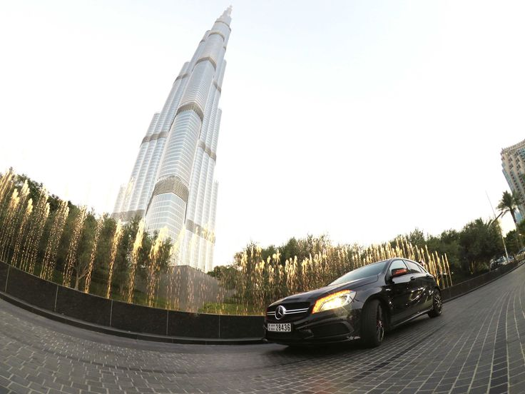 We test drove the A 45 AMG thanks to Mercedes-Benz Middle East & Levant. God is it a quick little thing!  http://bit.ly/MercedesBenzA45