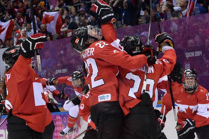 HOCKEY GOLD…..Canada wins gold in women's hockey, beating USA in overtime….It is OUR game!