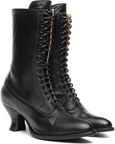 Oak Tree Farms Womens Mary Ii Victorian Boot $66.93 AT vintagedancer.com