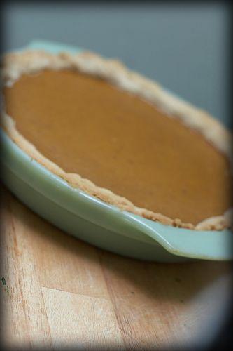 Sugar Pie Pumpkin Pie | Not Without Salt