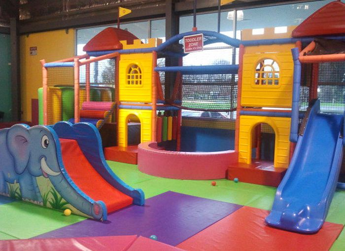 25 best ideas about plastic playground on pinterest for Baby jungle gym indoor