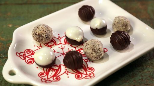 Chocolate Truffles CARLA HALL - Chew Recipes