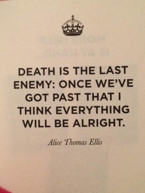 death is the last enemy | Word | Pinterest