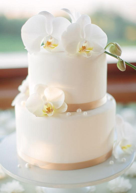 Wedding cake idea; Featured Photographer: Meg Perotti
