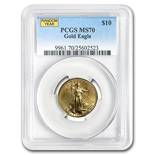 1986 Present 1 4 Oz Gold American Eagle Ms 70 Pcgs Random Year Gold Ms 70 Pcgs Coin Highlights Contains 1 4 Gold American Eagle Gold Coins For Sale Pcgs