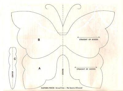 great butterfly applique