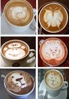 ... Dibujos En Café Latte en Pinterest | Latte, Arte Del Café y Café