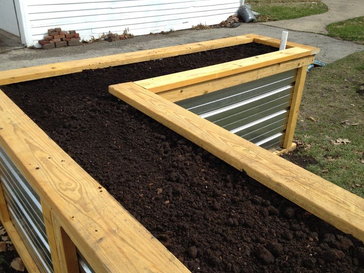 Like These Metal Beds Not As High Like The Self Watering 400 x 300