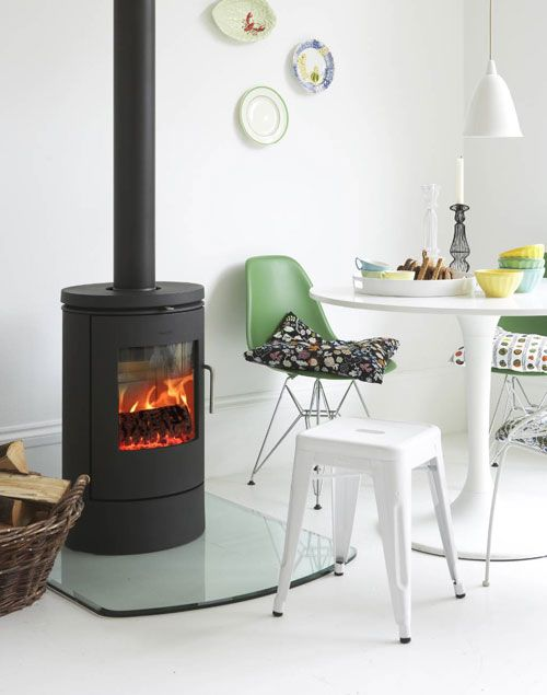 Morso Stoves  http://www.rivercatcher.co.uk/north-wales-self-catering-holiday-cottages/