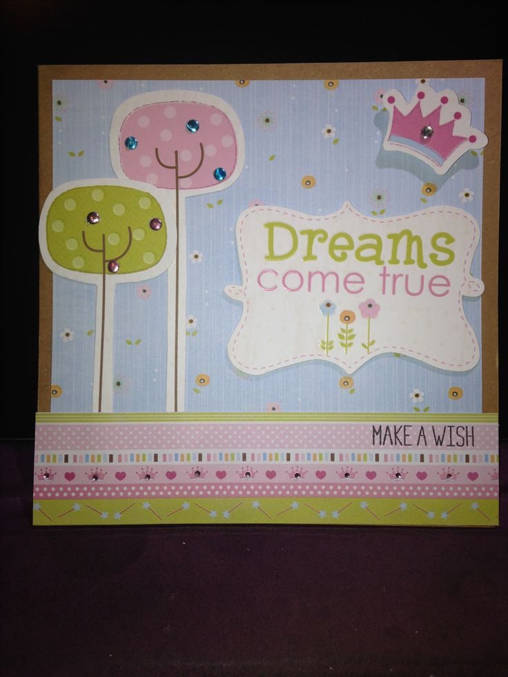 Naomi Eastburn's 1st birthday card Feb 2017