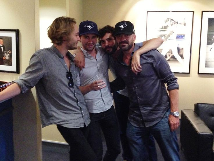 Toby Regbo, Torrance Coombs, Alan Van Sprang and Rossif Sutherland - It's Reigning Men ;) #Reign