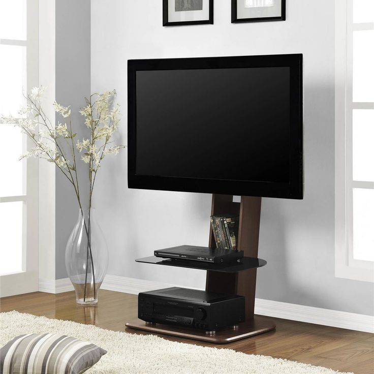 Altra Furniture Galaxy TV Stand with Mount - Walnut - 1705196