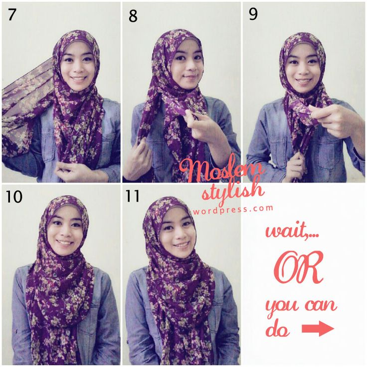 Tutorial hijab for beginner