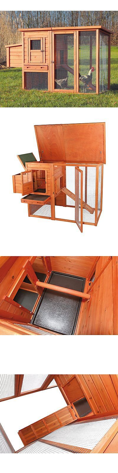 Backyard Poultry Supplies 177801: Trixie Chicken Coop With Outdoor Run, Brown -> BUY IT NOW ONLY: $178.73 on eBay!