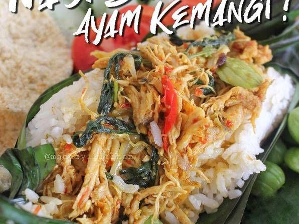 Resep Nasi Bakar Ayam Kemangi No Santan Oleh Maccby Kitchen Resep Makanan Makanan Minuman Kemangi