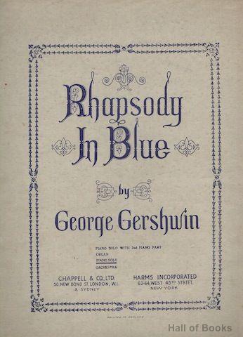 Rhapsody In Blue: Piano Solo by George Gershwin