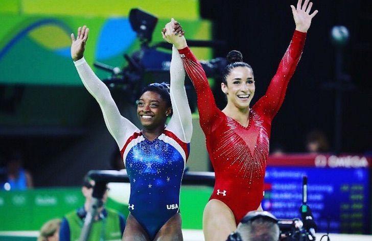 Los mejores abdominales del mundo son de las gimnastas olímpicas. Es un hecho y aquí lo demostramos