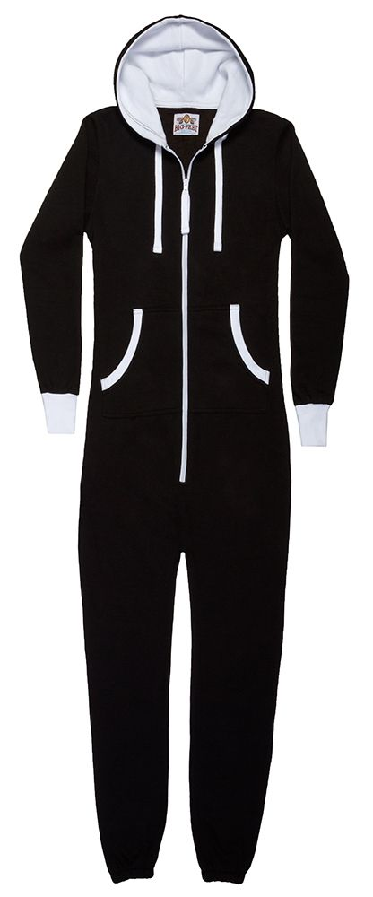 Big Feet Pajama Company - Love this onesie in black and pink :)
