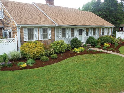 1000 ideas about foundation planting on pinterest for Foundation planting plans