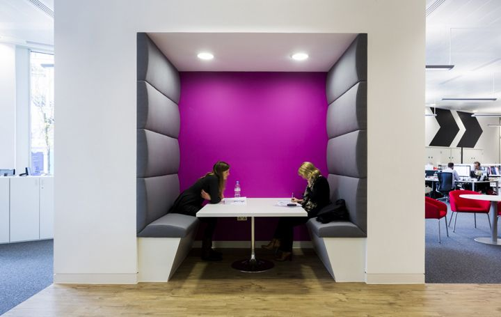 Booth meeting room