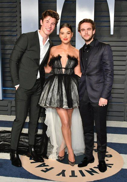 Shawn Mendes with Zedd and Hailee Steinfeld