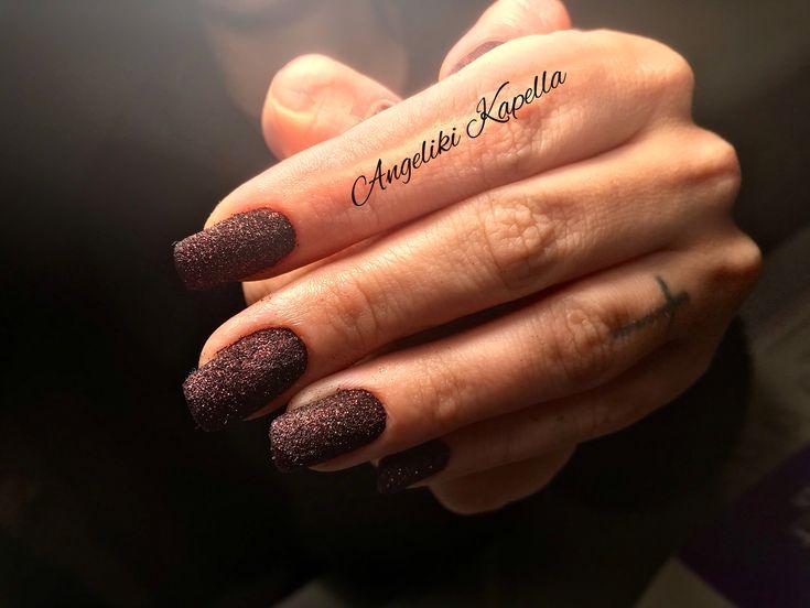 Pixie k chocolate nails