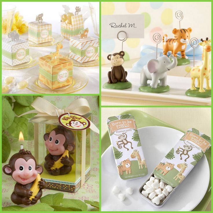 Jungle Party Favors from HotRef.com