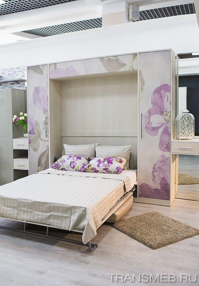 шкаф-кровать диван сложенный фото