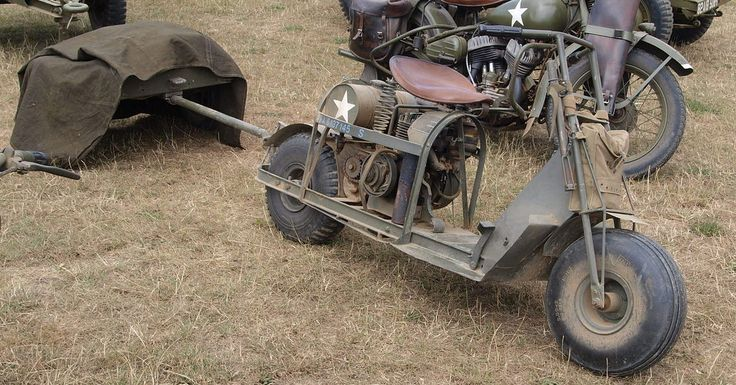 The History of the Cushman – Making Motor Scooters For The Military In WW2