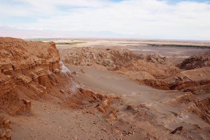 Valle de la Luna en San Pedro de Atacama. En el Flickr de Nico Kaiser.